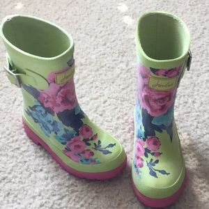 Joules wellies (rain boots)